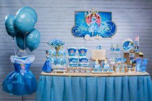 decoração de festa infantil princesa