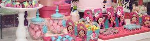 decoração de festa infantil Show da luna