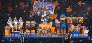 decoração de festa infantil guardiões da galáxia