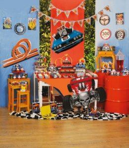 decoração de festa infantil carros