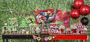 decoração de festa infantil miraculous