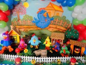 decoração de festa infantil galinha pitadinha