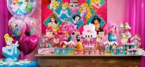decoração de festa infantil princesas