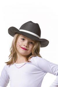 Fantasia de chapeu cowboy